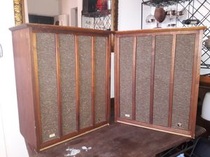 Mid Century Fisher XP-10 60's speakers *Sound Amazing, can test* for Sale in Loma Linda, CA