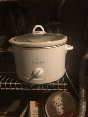 Rival crock pot for Sale in Brunswick, OH