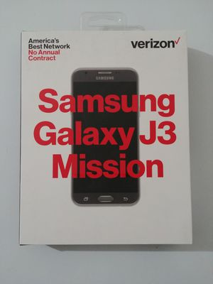 New unlocked Samsung galaxy j3 mission smart phone for Sale in Fairfax, VA