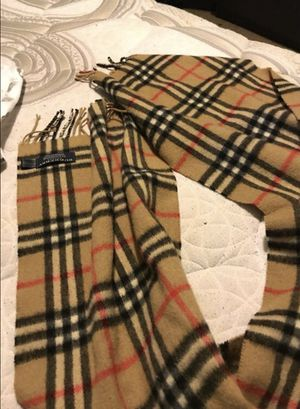 Burberry Cashmere Scarf for Sale in Grove City, OH