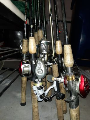 BassPro Fishing Rods and reels for Sale in Alpharetta, GA