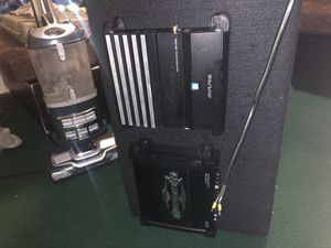 Alpine E 12 Thunder subwoofer with amps for Sale in San Francisco, CA