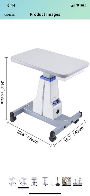 Electric Adjustable Instrument Table for Sale in Murrieta, CA