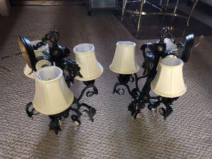 (2) - Chandelier light fixtures for Sale in San Francisco, CA