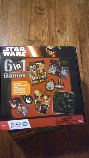 Star War 6 in 1 kids game for Sale in Affton, MO