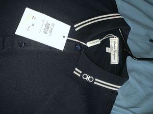 Ferragamo short sleeve polo size Medium for Sale in Washington, DC