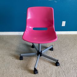 Hot Pink IKEA Desk Chair for Sale in Vancouver,  WA