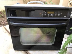 """Stove. Free. 30"""". Works great. Black. for Sale in Huntington Beach, CA"""