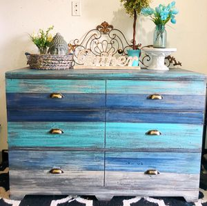 Beach Chic Dresser—-Free Delivery! for Sale in Washougal, WA