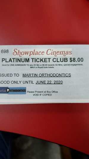 Movie passes for Sale in Evansville, IN