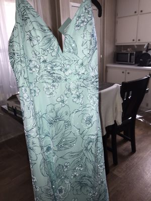 Prom Blue Dress | size 15/16 very pretty for Sale in Palestine, TX