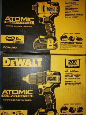 2 dewalt combo kits for Sale in Modesto, CA