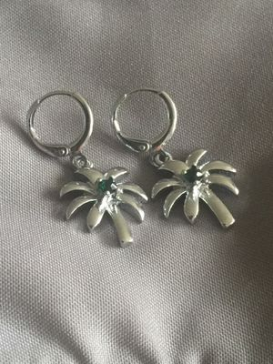 Brand new High quality silver plated tree earrings for Sale in East Brunswick, NJ