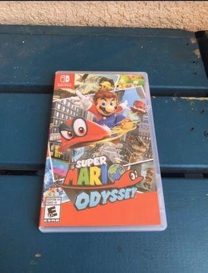 Super Mario Odyssey - Nintendo Switch for Sale in Los Angeles, CA