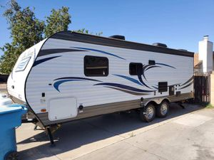 2017 sea breeze pacific coach travel trailer rv hauler for Sale in Phoenix, AZ