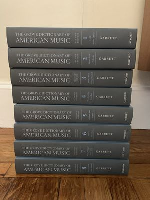 Grove Dictionary of American Music 2nd edition vol. 1-8 for Sale in Boston, MA