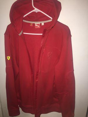 PUMA x Ferrari Large Red Hoodie for Sale in Watauga, TX