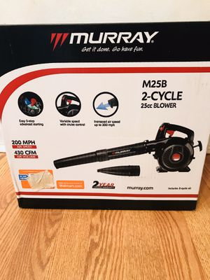 Murray 2 cycle leaf blower brand new for Sale in Westmont, IL