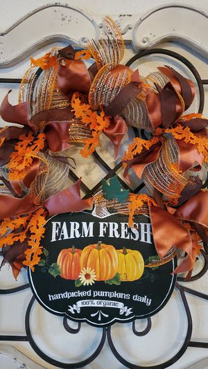 Fall Wreath for Sale in Oak Point, TX