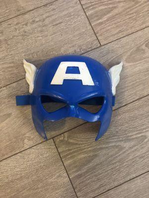Captain America's mask for Sale in San Ramon, CA