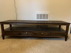 Wood TV Stand for Sale in Seattle, WA