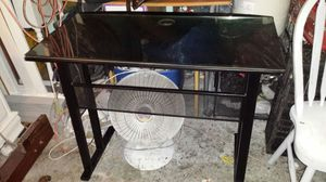 Nice Black Metal desk. Like new. for Sale in Salt Lake City, UT