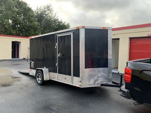 Trailer 6 x 12 2016 luces LED, for Sale in West Palm Beach, FL