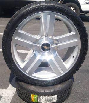 "24"" Chevy Silverado Wheels All Black GMC Sierra Rims all brand new setof4 for Sale in Los Angeles, CA"