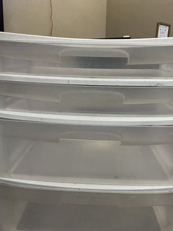4 Drawer Plastic for Sale in Fort Worth,  TX