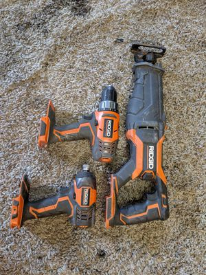 Ridgid power tool set for Sale in Puyallup, WA