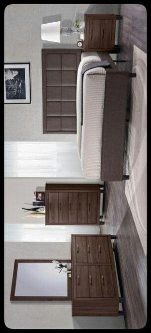 🚩SET🚩 Chocolate Bar Old Wood Panel Bedroom Set for Sale in Hyattsville, MD