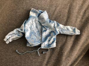 blue velvet american girl doll jacket, 18 inch doll for Sale in Oro Valley, AZ