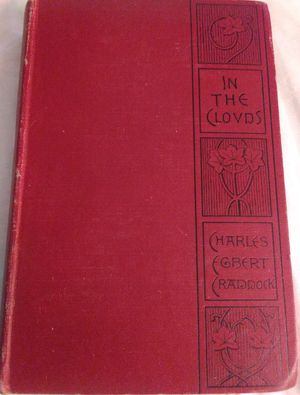In The Clouds by Charles Egbert Craddock (1887) (First Edition) for Sale in Colorado Springs, CO