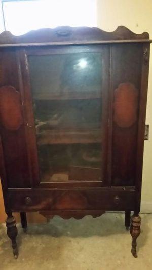 Antique furniture curo cabinet for Sale in Berlin, MA