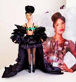 Selena Doll OOAK w/green + black outfit for Sale in Fontana, CA