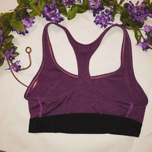 Champion Seamless Purple Racerback Sports Bra for Sale for sale  Elk Grove Village, IL