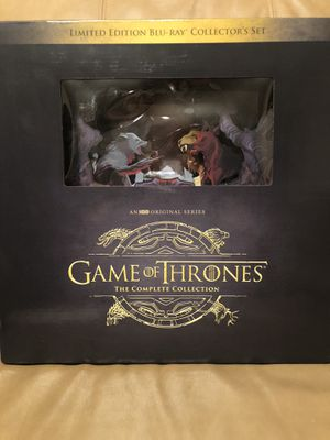 Game of Thrones: The Complete Collector's Set [Blu-ray] for Sale in Hialeah, FL