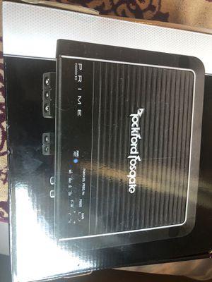 Rockford Fosgate Amp for Sale in Phoenix, AZ