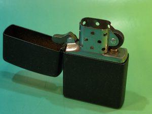 Matte black Zippo pocket lighter for Sale in San Jose, CA