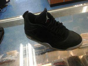 Nike aire retro jordan 4 black laser size 10 for Sale in Margate, FL