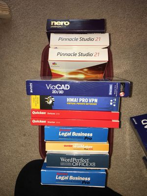 Huge lot of Brand new in packaging software!!' 2018 versions for Sale in Portage, PA