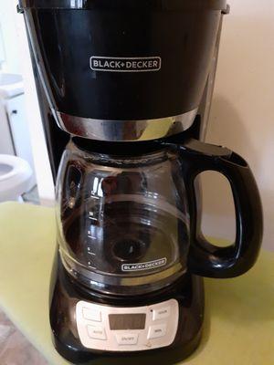 Black and Decker coffee maker for Sale in San Antonio, TX