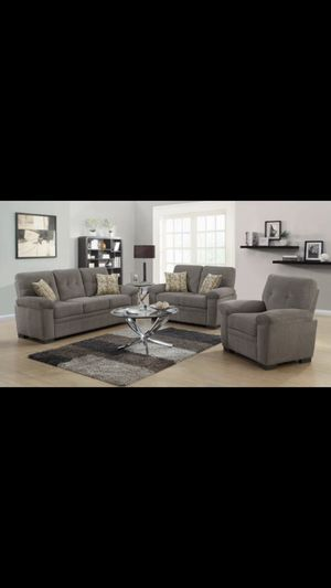 Beautiful new 2 piece sofa set (1sofa & 1loveseat) only 799$!!! for Sale in San Leandro, CA