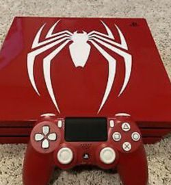 Sony PlayStation 4pro Spider Man Disc Version for Sale in Huntington Park,  CA