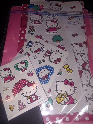 Hello kitty stickers pkg this is new for Sale in Croydon, PA