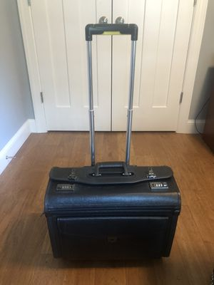 Professional Oversized Rolling Briefcase with Combination Lock for Sale in Charlotte, NC