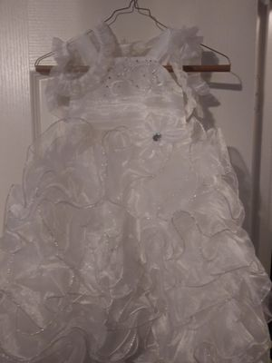 Flower girl dress or baptism dress for Sale in San Antonio, TX
