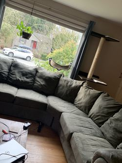 2 piece sectional couch for Sale in Seattle,  WA