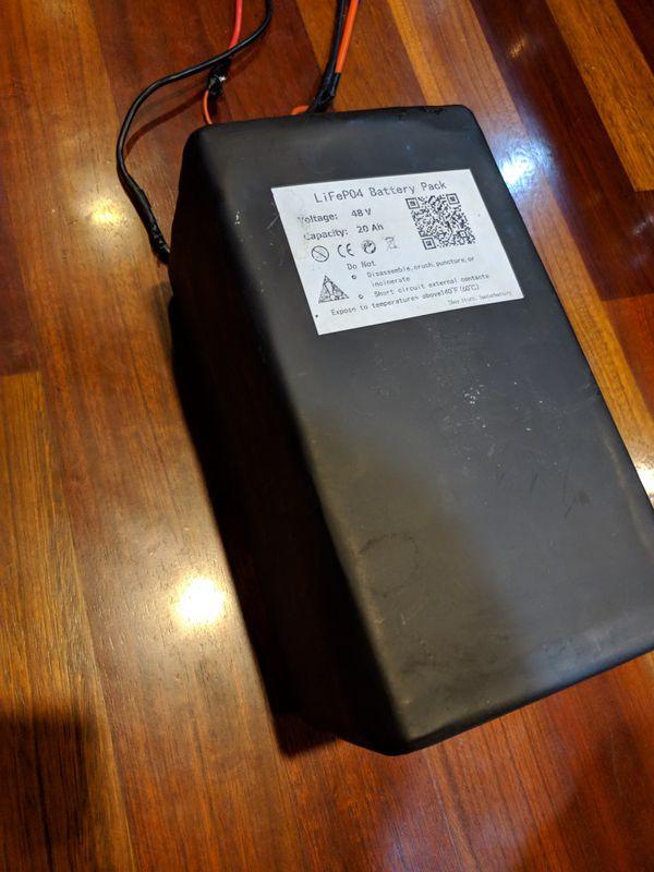 New 48v Lithium E-bike battery