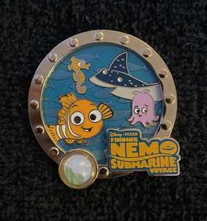 Disney Pin #202, LE (1500), 2014, A Piece of Disneyland Resort History, Finding Nemo Submarine Voyage for Sale in San Diego, CA